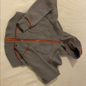 Lululemon thick crop hoody sweater